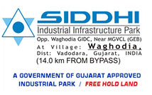 siddhi-industrial-park-land-plot-shed-on-rent-lease-vadodara-savli-makarpura-waghodiya-halol-gidc-gujarat